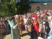 Семейный Крестный Ход в Саках, 8 июля 2018