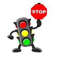 На Евпаторийском шоссе светофоры будут сбоить