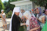 Саки посетил Митрополит Симферопольский и Крымский Лазарь, 2 августа 2018