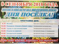День поселка Новофедоровка