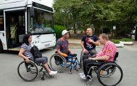 Сакские инвалиды отправились на картодром, 7 сентября 2018