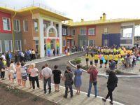 В Саках в микрорайоне Амет-Хан Султан открылся детский сад