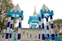 Детская площадка на Галушкина почти готова