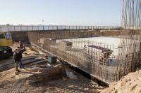Строительство ливневой канализации в Саках, 12 ноября 2018