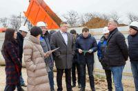 Саки посетил вице-премьер Крыма
