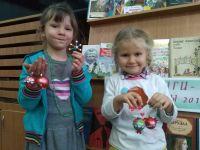 Елочки-игрушки из бисера