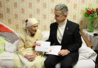 100-летний юбилей Надежды Дынькиной