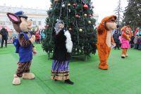 В Саках открылась городская ёлка, 29 декабря 2018