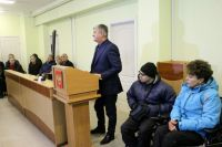 Встреча руководства города Саки с жителями