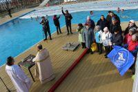Крещение в Саках и Новофедоровке