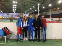 Сакчане на чемпионате по лёгкой атлетике