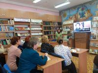 Пушкинский вечер в сакской библиотеке