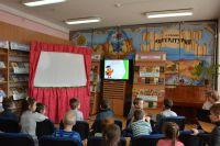 """Детский сад """"Чебурашка"""" в городской библиотеке"""