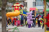 Открылся обновлённый дворик по ул.Ивановой