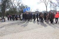 Открыт обновленный Сквер Памяти у ж/д вокзала