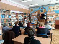 """""""Литературная гостиная"""" в сакской библиотеке"""
