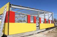 Монтаж детского сада «Чайка» в Саках