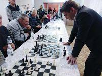 Сеанс одновременной игры в шахматы, 17 апреля 2019