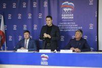 Саки посетил депутат госсовета Крыма В.Ганжара