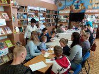 Майский мастер-класс в городской библиотеке