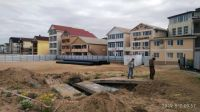 Реконструкция стока воды на пляже БО «Прибой», 8 мая 2019
