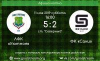 ФК «Саки» проиграл