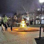 В сквере «Крымской весны» заработал «фонтан»
