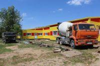 """Строительство детского сада """"Чайка"""" в Саках"""