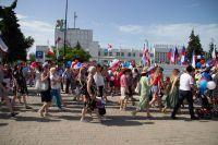 Саки отметил День России, 15 июня 2019