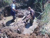 В Саках остановили слив канализации в городское озеро