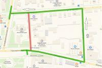 Реконструкция переулка Ковалева, 10 июля 2019