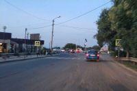 В Саках установили новый светофор