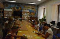 Творческие занятие по выходным в городской библиотеке