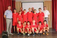 Награждение юных сакских футболистов