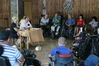 ИО главы администрации Сак встретился с инвалидами, 31 августа 2019