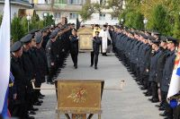 Главная икона ВМФ России доставлена в храм св. Феодора Ушакова