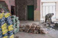 В Саках идет капремонт детской поликлиники