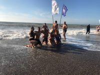 В Саках открыт сезон «зимнего плавания»