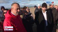 Строительство набережной в Саках приостановлено