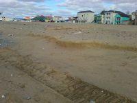 Строительство  набережной угрожает песчаным пляжам