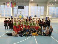 Юные Сакские футболисты участвуют в новогоднем турнире