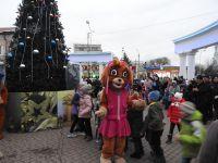 В Саках открыли городскую ёлку, 27 декабря 2019