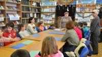 Мастер-класс в сакской городской библиотеке
