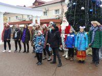 Зимние каникулы на площади Революции