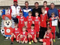 Турнир по футболу в Евпатории