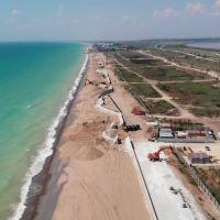 Обсуждение строительства набережной в Саках
