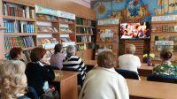 Литературная гостиная в сакской городской библиотеке