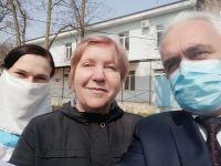 В Сакской ЦРБ вылечили женщину с коронавирусом