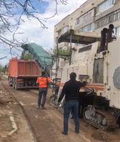 В Саках начат ремонт улицы Крымская