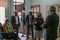 Начался ремонт Сакской библиотеки, 29 апреля 2020